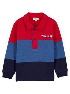 Red Polo shirt GOTRIPOL / 19W902J1POL050