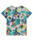 Brown T-shirt JOMARTI6 / 20S902P1TMCI811
