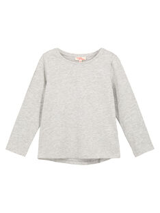 Heather grey Longsleeve T-SHIRT GAESTEE3 / 19W901U3D32943