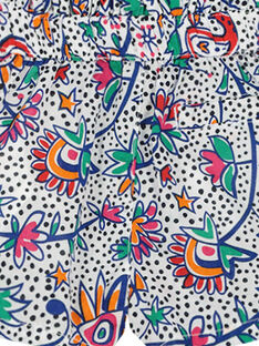 Baby girls' printed shorts FITOSHO1 / 19SG09L1SHO000
