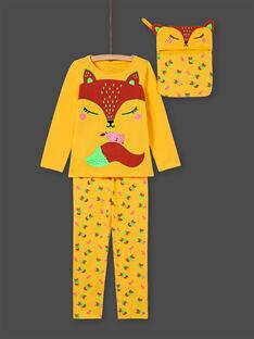 Yellow PAJAMAS MEFAPYJFOX / 21WH1174PYG010