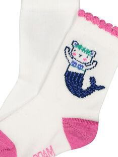 Baby girls' mermaid socks FYINECHO / 19SI09B1SOQ000
