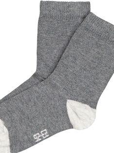 Dark grey Socks GYUESCHO3 / 19WI10U5SOQ944