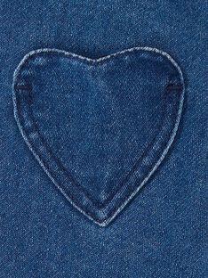 Baby girl blue jeans LIHAPANEX / 21SG09X2PANP270