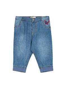 Blue denim Jeans FUBAJEAN / 19SG1061JEA704