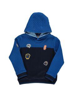 Navy Sweat Shirt DOBLESWE2 / 18W90292SWEC205