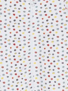 White ROMPER LOU1GRE7 / 21SF05H5GRE000