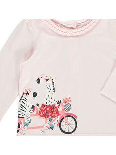 Baby girls' long-sleeved T-shirt CIHOTEE / 18SG09E1TMLD310
