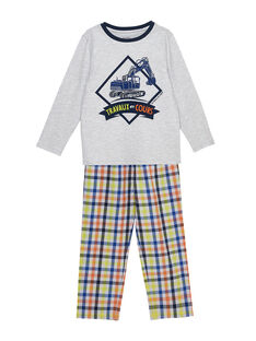 Grey Pajamas JEGOPYJTRA / 20SH1223PYJJ920