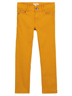 Yellow Pants GOJOPATWI2 / 19W90248D2B107