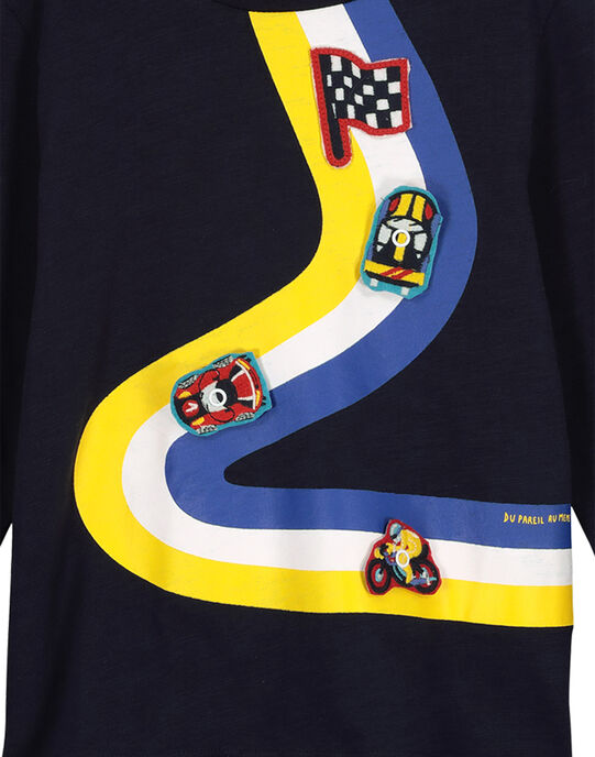 Boys' fancy T-shirt FOCOTEE2 / 19S90282TML705