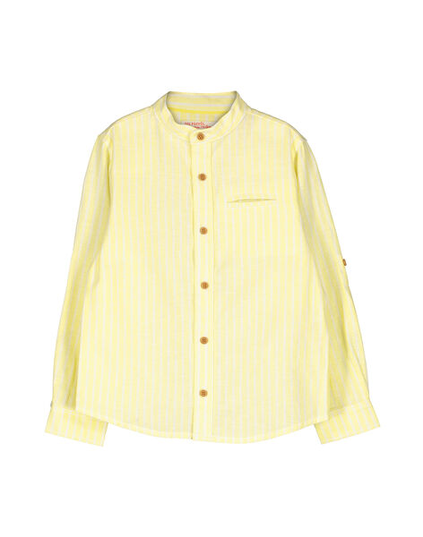 Boys' fancy shirt FOPOCHEM3 / 19S902C3CHM104
