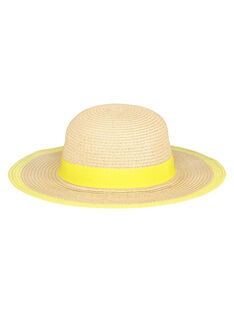 Girls' floppy hat FYAPOHAT2 / 19SI01C2CHA009