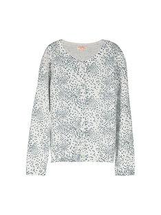 Girls' fancy knit cardigan FANECAR2 / 19S901B2CAR099