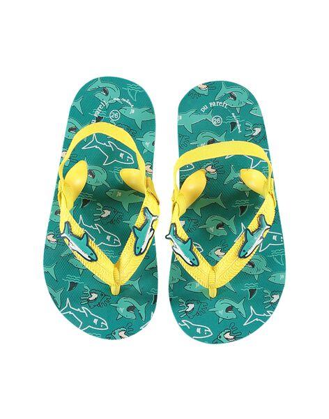 Turquoise Beach flip flops JGTONGREQ / 20SK36Z2D01202