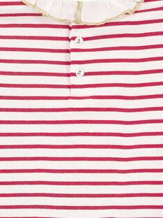Off white Baby blouse GINOBRA / 19WG09V1BRA001