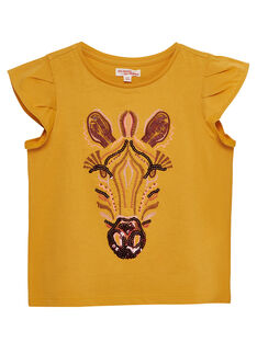 Yellow T-shirt JADUTI2 / 20S901O2TMCB107