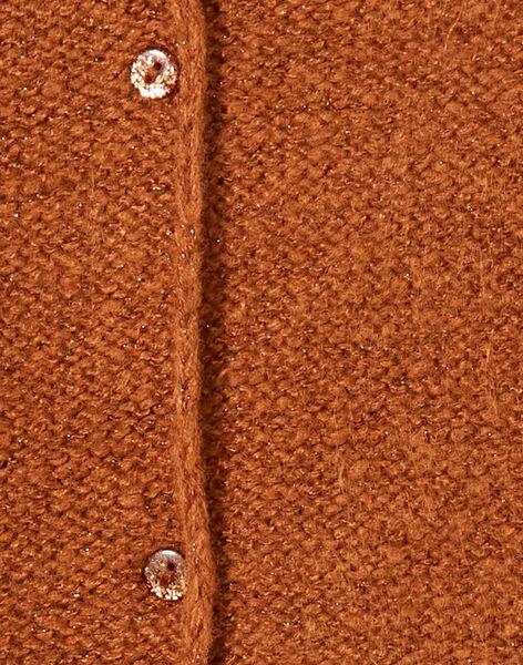 Light brown CARDIGAN KAJOCAR9 / 20W90144D3C420