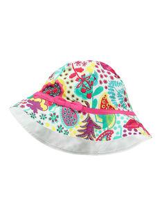 Girls' printed hat FYACAHAT1 / 19SI01D1CHA099