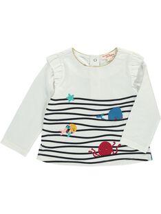 Baby girls' long-sleeved T-shirt DINAUTEE / 18WG09G1TML001