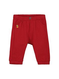 Spice red pants FUBAPAN1 / 19SG1061PANF509