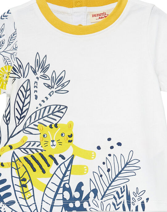 Off white T-shirt JUTROTI1 / 20SG10F2TMC001