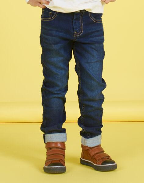 Boy's elasticated jeans MOMIXJEAN / 21W902J1JEAP274