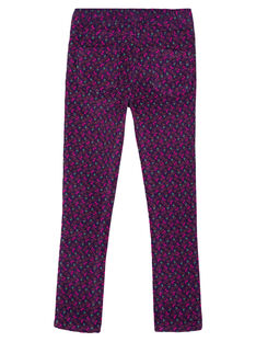Purple pants GAVIOPANT / 19W901R1PAN708