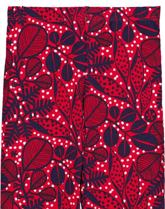 Red Leggings GYATRILEG / 19WI01J1CALF512