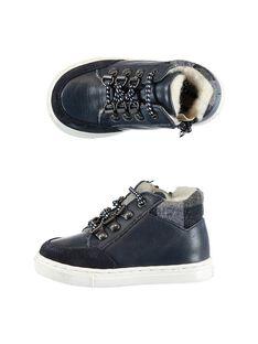 Navy Sneakers GBGBASCHO / 19WK38Y1D3F070