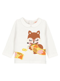 Off white Baby blouse GIJAUBRA / 19WG09H1BRA001