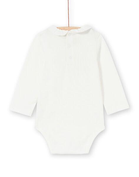 White body with collar baby girl LIPOEBOD / 21SG09Y1BOD001