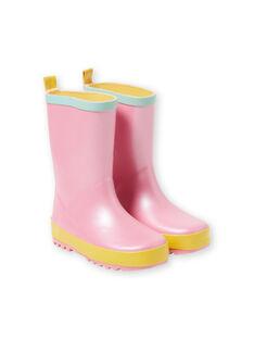 Pale rose Rain boots JFBPPASTEL / 20SK35Y1D0C301