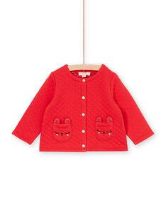 Baby girl red vest LIHACAR / 21SG09X1CAR505
