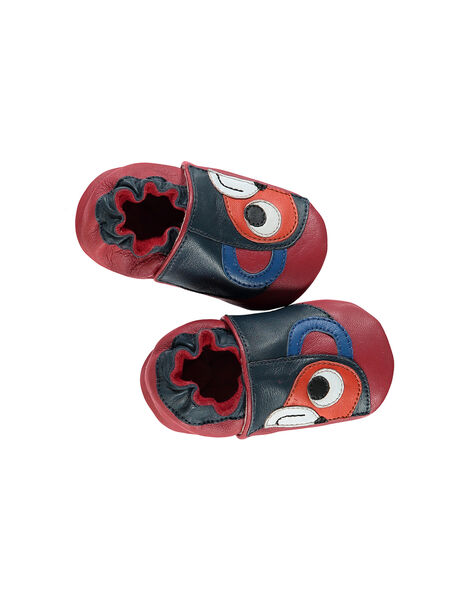 Baby boys? leather slippers. FNGSING / 19SK3837D3S050