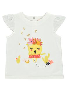 Baby girls' short-sleeved T-shirt CIPITI / 18SG09I1TMC001