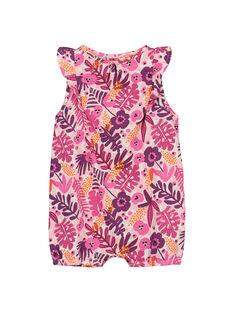 Baby girls' short bodysuit FIPLACOM2 / 19SG09P2CBL000