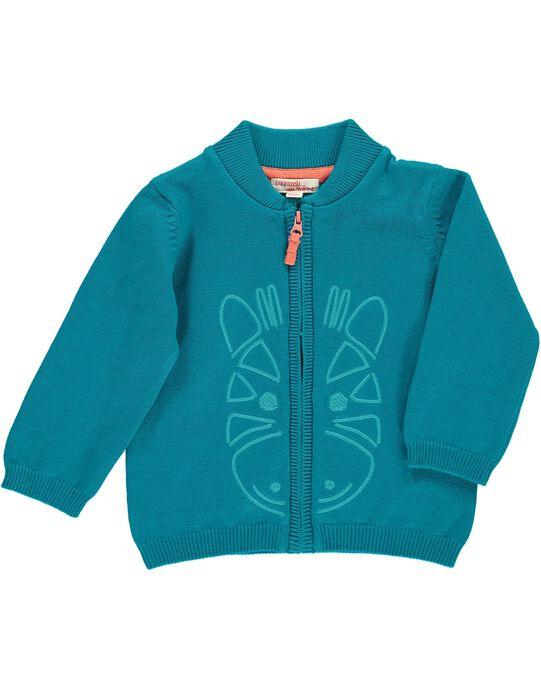 Dark Turquoise Waistcoat CUJOGIL6A / 18SG10R8GILC217