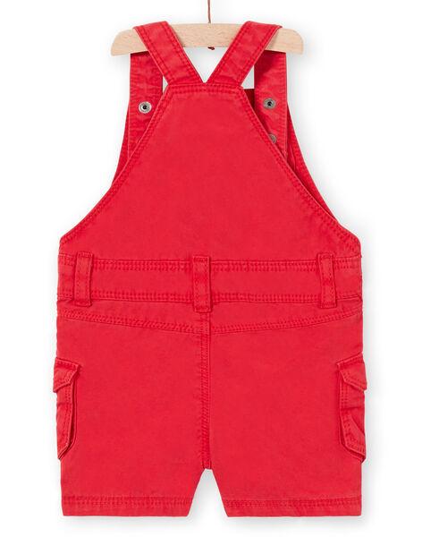 Red SHORT OVERALLS LUCANSAC / 21SG10M1SACF505