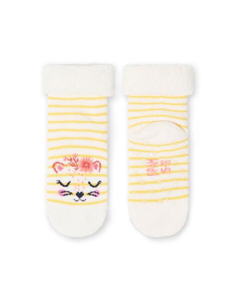 Pair of girl's socks LYINAUSOQB / 21SI09L1SOQ001