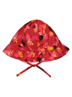 Baby girls' hat with ties FYIBACHA / 19SI0961CHA099