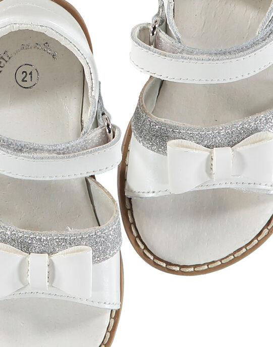 White Sandal FBFSANDVEL / 19SK37C3D0E000