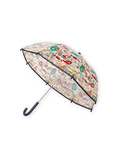 Boy's transparent umbrella with fantasy motifs MYOCLAPARA / 21WI02G1PUI961