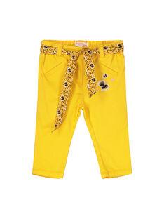 Yellow pants FULIPAN1 / 19SG1021PAN412