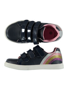 Girls' smart sequin trainers FFBASMAR / 19SK3532D3F070
