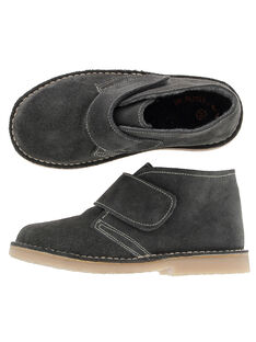 Boys' leather boots DGBOOTERS2 / 18WK36T6D0D940