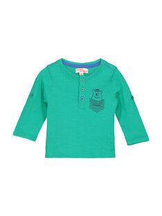 Baby boys' grandad collar T-shirt FUJOTUN4 / 19SG1034TML630