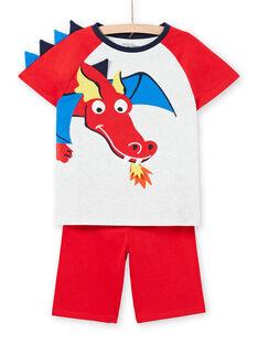 phosphorescent pyjamas child boy LEGOPYJDRAEX / 21SH125GPYJJ920