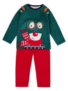 Green Pajamas GEGOPYJNO1 / 19WH12T2PYJG614
