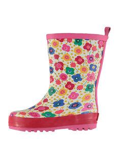 Multicolor Rain boots FBFBPFLEUR / 19SK37X1D0C099